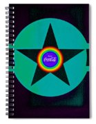 Landscape With Rainbow Spiral Notebook