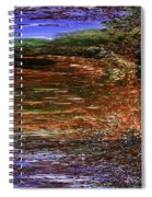 Landscape With Sky Reflected Spiral Notebook