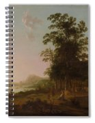 Landscape With The Flight Into Egypt Spiral Notebook