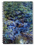 Landscape With Waterfall 1890 Spiral Notebook