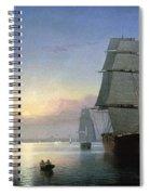 Lane: Boston Harbor Spiral Notebook