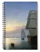 Lane: Boston Harbor Spiral Notebook