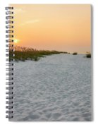 Langdon Beach Sunrise 5 - Pensacola Beach Florida Spiral Notebook
