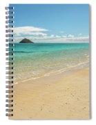 Lanikai Beach 4 - Oahu Hawaii Spiral Notebook