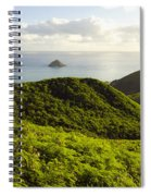 Lanikai Hills Spiral Notebook