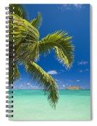 Lanikai Seascape Spiral Notebook