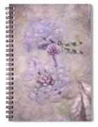 Lantana In Purple Spiral Notebook