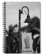 Lantana Lamp Post Spiral Notebook