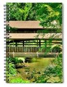 Lanterman's Mill Covered Bridge Spiral Notebook