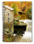 Lantermans Mill In Fall Spiral Notebook