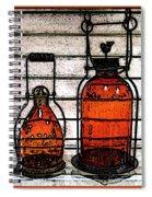 Lanterns Still Life Spiral Notebook