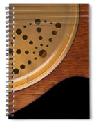Lap Guitar I Spiral Notebook