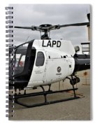 Lapd Air Division Spiral Notebook