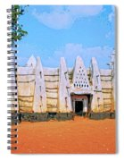 Larabanga Mosque Spiral Notebook
