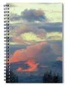 Wyoming Sunsets 1 Spiral Notebook