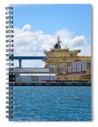 Large Banana Boat Spiral Notebook