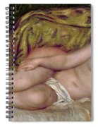 Large Nude Spiral Notebook