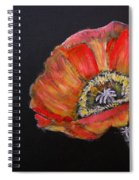 Large Poppy Spiral Notebook