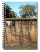 Large Water Fountain Spiral Notebook