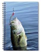 Largemouth Bass Spiral Notebook