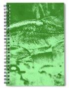 Largemouth Bass 9 Spiral Notebook