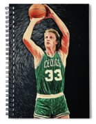 Larry Bird Spiral Notebook