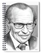 Larry King Spiral Notebook