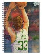 Larry Legend Spiral Notebook