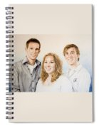 Lars Niels And Ilse Spiral Notebook