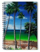 Las Cuevas Bay Spiral Notebook