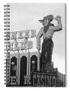 Las Vegas 1980 Bw #13 Spiral Notebook