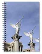 Las Vegas Angels Spiral Notebook