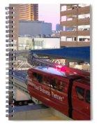 Las Vegas Monorail Spiral Notebook