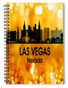 Las Vegas Nv 3 Vertical Spiral Notebook