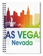 Las Vegas Nv  Spiral Notebook
