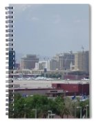 Las Vegas Pano Section 2 Of 3 Spiral Notebook