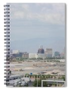 Las Vegas Pano Section 3 Of 3 Spiral Notebook
