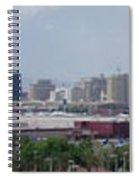 Las Vegas Panoramic View Spiral Notebook