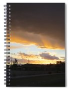 Las  Vegas  Sunset  2 Spiral Notebook