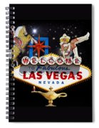 Las Vegas Symbolic Sign Spiral Notebook