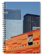 Las Vegas Under Construction Spiral Notebook