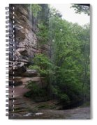 Lasalle Canyon Starved Rock State Park Spiral Notebook