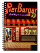 Last Burger On Land Spiral Notebook