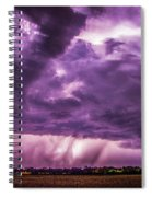 Last Chace Lightning For 2017 006 Spiral Notebook