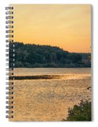 Last Day Of Summer Spiral Notebook