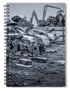Last Journey - Salvage Yard Spiral Notebook