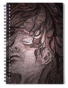 Last King Of Mars Spiral Notebook