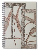 Last Leaves Spiral Notebook