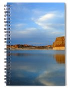 Last Light Over Lake Powell Spiral Notebook