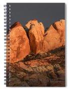 Last Light Valley Of Fire Spiral Notebook